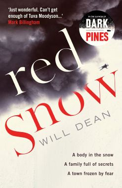 red snow cover