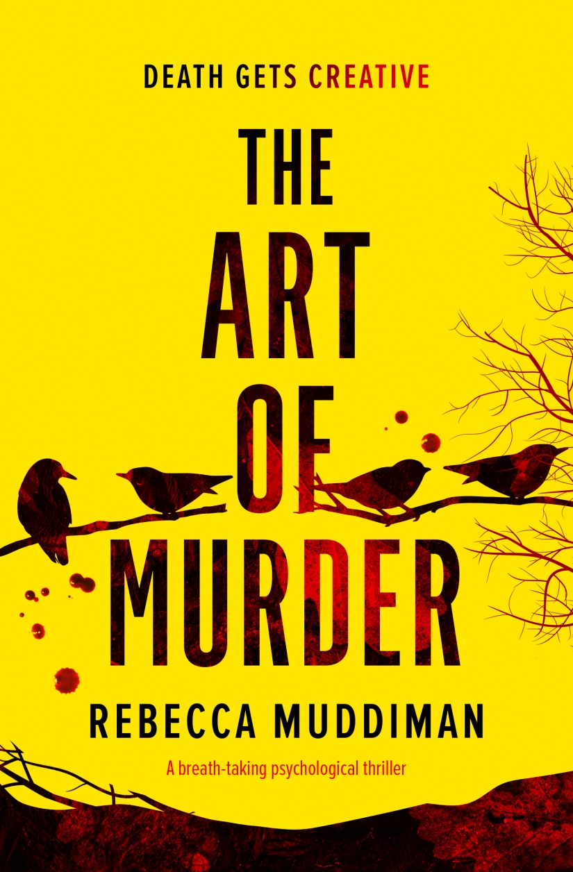 Rebecca Muddiman - The Art of Murder_cover